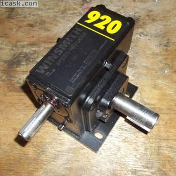 新WINSMITH 920XWTS3X000FT蜗杆齿轮减速器920WT比率50:1