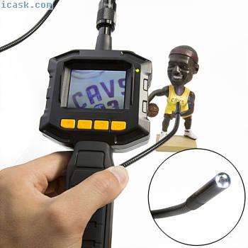 2.3英寸TFT液晶显示器内窥镜摄像头的汽车8毫米检查相机防水