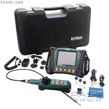 *新* Extech HDV640W高清VideoScope与无线手机Articulating探测英国
