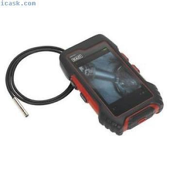 Sealey平板电脑设计视频内窥镜Ø5.5毫米相机防水探头VS8223