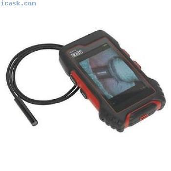 Sealey平板电脑设计视频内窥镜Ø9毫米相机防水探头VS8222