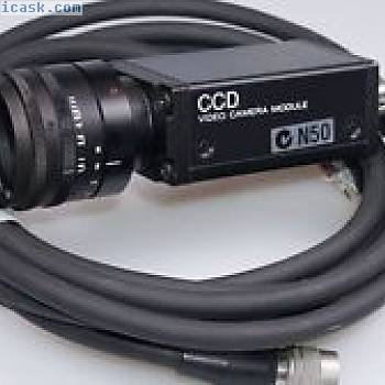 索尼XC-75CE CCD摄像机Modul Kamera Objektiv Docter Tevidon 1,816