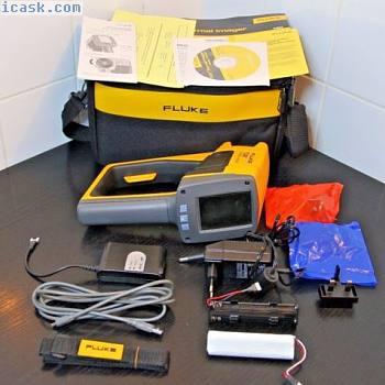 FLUKE Ti20红外热成像手持相机Wärmebildkamera+ Tasche