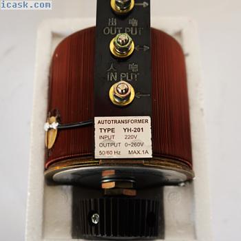 A相调压变压器220V变压器节电器0?260V