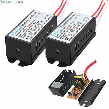 电子变压器灯泡LED灯AC 12V 20-50W电源