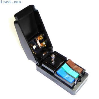 快速电源连接器测试块墙壁桌面安全测试适配器16安培