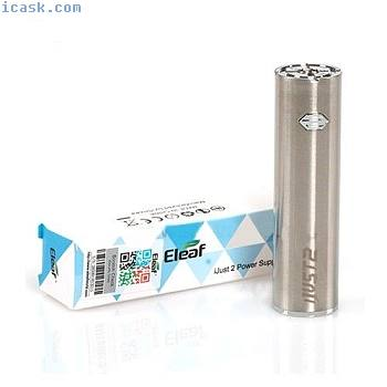 原件Eleaf iJust 2电池2600mAh D:22毫米银