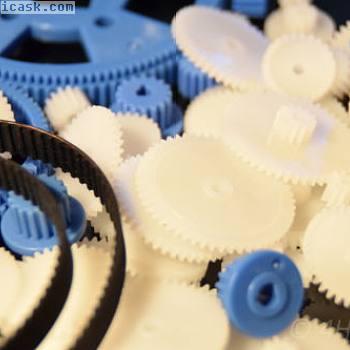 69件齿轮组+2齿形带132 96塑料齿轮型号RC