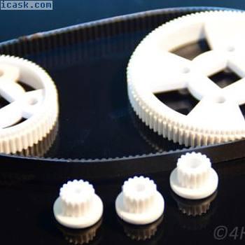 6件齿轮齿带式同步驱动齿轮型号RC 156