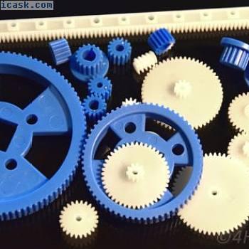 23件齿轮组塑料尺寸不同,齿轮型号为RC