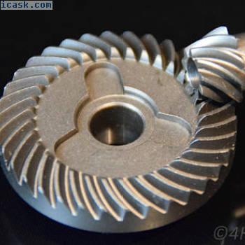 齿轮+小齿轮34-9齿轮齿轮11.7 + 7mm驱动齿轮钢90°
