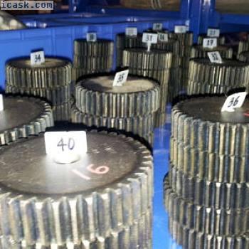 齿轮,模具3,模数3,齿数30,材料C45 ETZR-M3-30