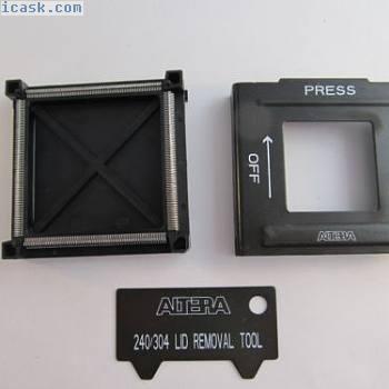 PL-SKT-Q304 ALTERA开发插座QFP304引脚 -  A199301