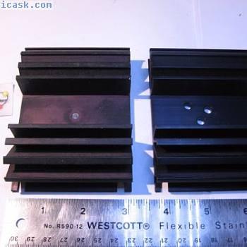 Wakefield 3x4-18x1黑色阳极氧化 - 使用拉数量2
