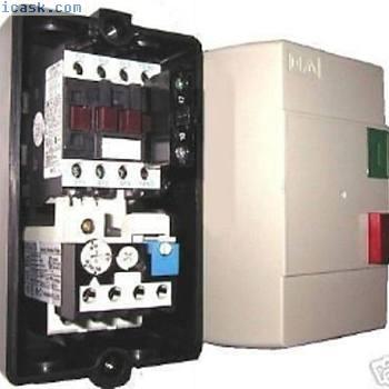 封闭式启动停止,E停止电动机起动器压缩机锯磨机0.5Hp到12HP