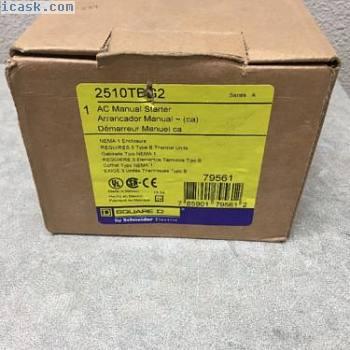 SQUARE D 2510 2510TBG2 3相手册电动机起动器5HP @ 480V STARTSTOP新