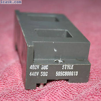 505C806G13西屋控制线圈440480V,5060Hz,尺寸00-2,系列A200