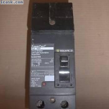 NEW SQUARE D QJ 100 2极100 amp 240v QJA221002断路器QJA QJA22100