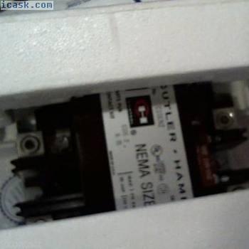 C10EN2 Cutler Hammer接触器起动器w 120V线圈辅助 - 新尺寸3