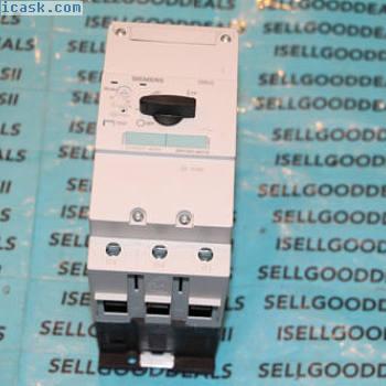 西门子3RV1041-4KA10手动电动机保护器起动器3RV10414KA10