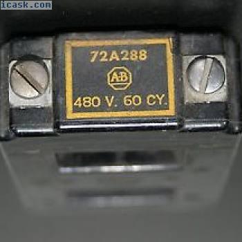 Allen Bradley 72A288二手控制线圈440480 V,5060 Hz,尺寸2,Ser.700K