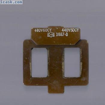 9-1887-3 Cutler锤子440480V交流,替换线圈,引用大小0和amp 1