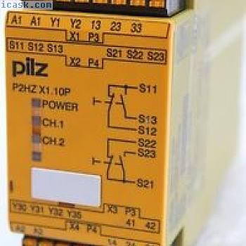 PILZ双手操作面板P2HZ X1.10P C 24VDC -787341