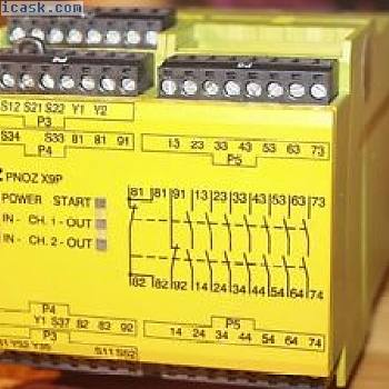 蘑菇急停开关设备24VDC PNOZ X9P -777609