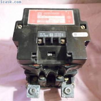 方形D 8903-SV02 200A照明接触器w 31091-400-47线圈