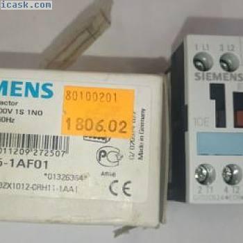 西门子3RT1015-1AF01接触器,AC-3 3 kW400 V