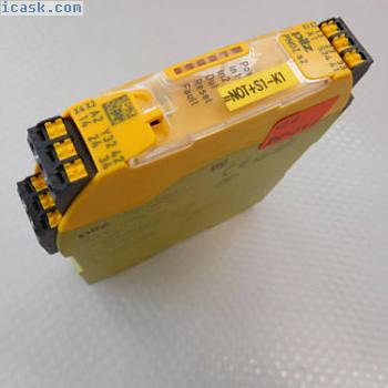 PILZ PNOZ s2 C 24VDC 3no 1nC保险丝开关编号751102