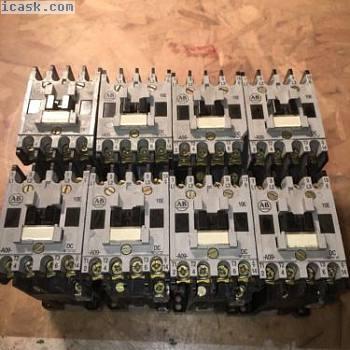 1批次8 ALLEN BRADLEY继电器接触器100-A09NZ 3 24V直流线圈