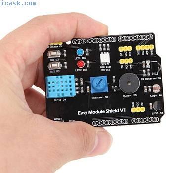 多功能扩展板DHT11 LM35温度湿度Arduino UNO GL