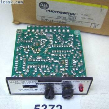 (5372)Allen Bradley控制器卡22DJ4-4000 OnOff,用于4000系列传感器