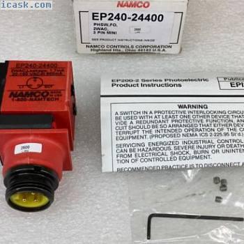 NAMCO EP240-24400光电传感器3引脚2WAC 20-150VAC盒装