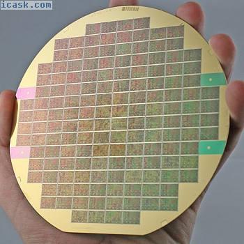 """5""""硅晶片AT& amp;贝尔实验室,带有镀金硅内插器"""