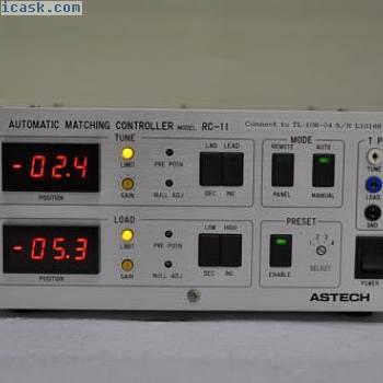 ASTECH RC-11自动匹配控制器通电测试