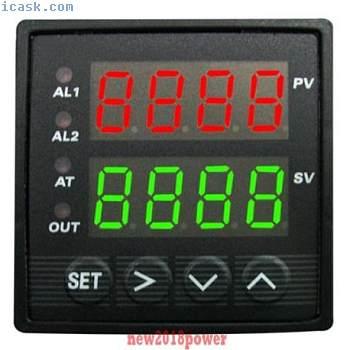 双数字FC PID温度控制器炉窑炉+热电偶