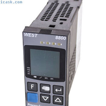 WEST 8800 8800-114-0000F-069温度过程控制器