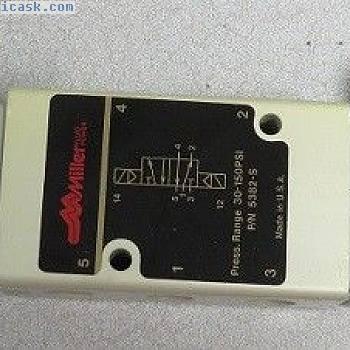 MILLER FLUID POWER电磁阀PN:5382-S
