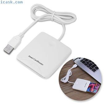 高速USB EMV PSSC智能卡芯片读写器支持ISO7816 GH