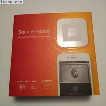 方形非接触式和芯片阅读器使用