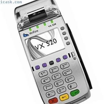 vx520 emv clts 32mb信用卡终端