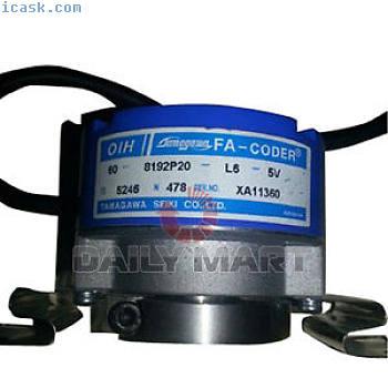 TAMAGAWA TS5246N478 OIH60-8192P2-L6-5V SMARTSYN电梯旋转编码器