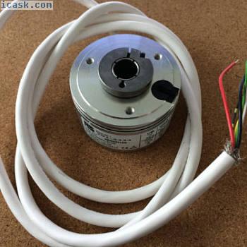 旋转增量式编码器500 ppr空心轴6000 rpm Hengstler RS 0-532-317