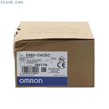 欧姆龙E6B2-CWZ6C旋转编码器2000PR新一年保修