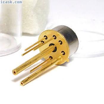 TO外壳中的小型压力传感器,镀金腿和管,NOS