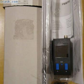 FESTO Drucksensor SDE1-D10-G2-W18-L-PU-M8 530900带LCD显示屏的OVP 10 bar