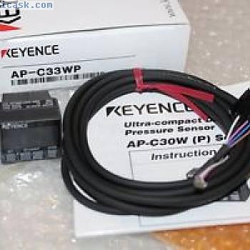 基恩士AP-C33WP数字压力传感器APC33WP OVP,NEW