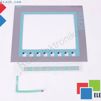 NEW PROTECTIVE FILM MASK WITH MEMBRANE KEYPAD FOR KTP100 SIEMENS ID23497
